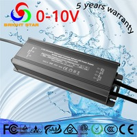 CE RoHS 12 volt led strips driver constant voltage 0-10V PWM dimmable led driver 50W 12V three years warranty