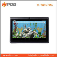cheapest high quality android 4.1 tablet pc flash player 512mb 4gb memory dual core 2500mAh battery