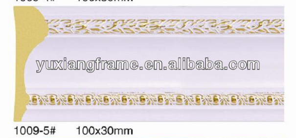 Polystyrene building moulds PS home decorative moulding
