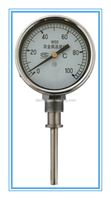 High quality stainless steel industry bimetal thermometer 0/100 c