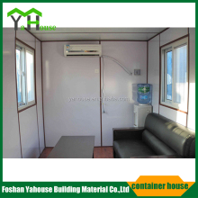 Economic sandwich panel portable flatpack house container for toilet apartment canteen