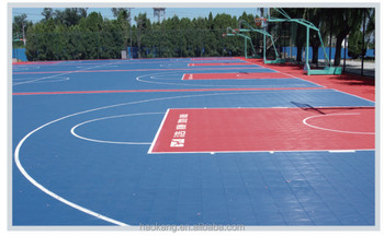 Manufacturer, Outdoor Interlocking PP Sports Tile, Outdoor Interlocking Basketball Flooring