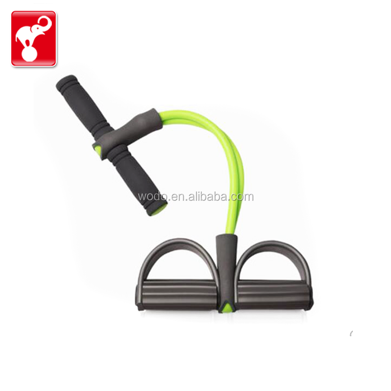 OEM factory cheap price leg step pull up workout bands rubber exercise tubing