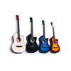 customized size 24inch 30inch 36inch 38inch cheap guitar student guitar acoustic guitar for beginner