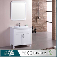 Wholesale promotional products china white lacquer bathroom vanity