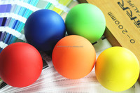2015 Rubber Custom lacrosse massage ball