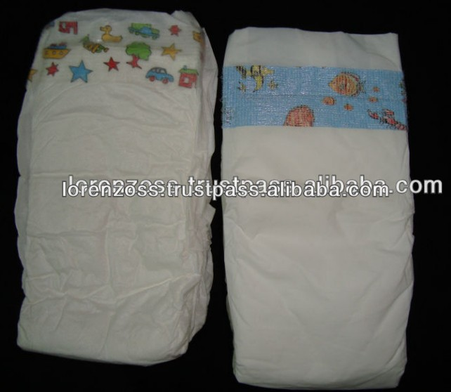 PE Film Comfortable Sleepy Baby Diaper for Sale