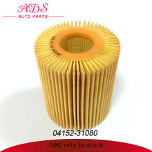 for Toyota Crown high quality oil filter paper with low price oem:04152-31080