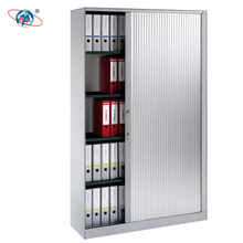 White metal roll up door file and book storage cabinets by China factory