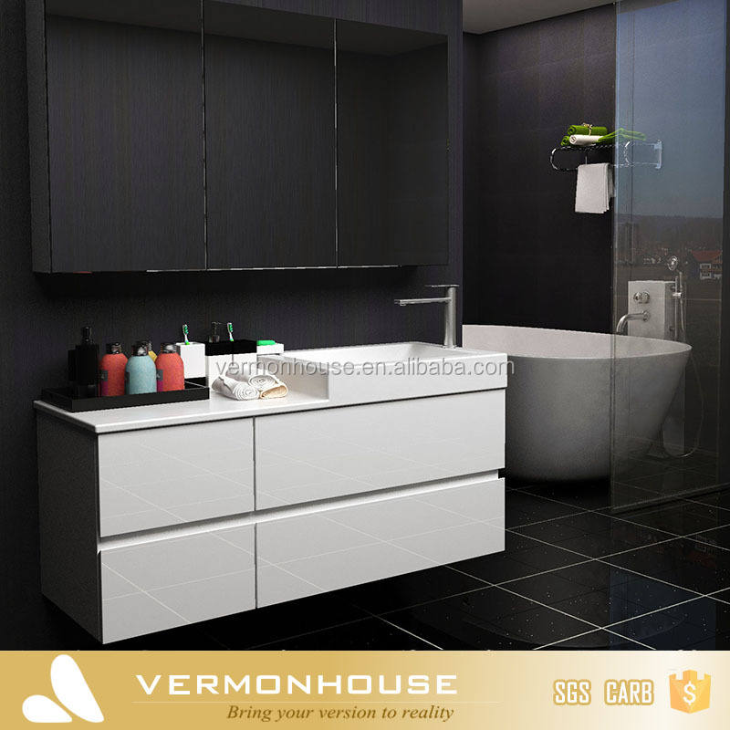 HangZhou Vermont Cheap Free Standing Single Bathroom Vanity Cabinet