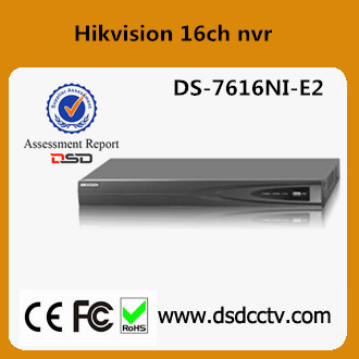 DS-7616NI-E2 16 channel nvr hikvision h 264 digital video recorder