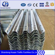 Road and Highway Protection Fence Steel Beam Crash Barrier