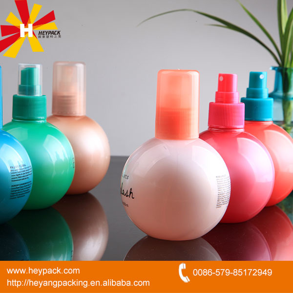 210ml plastic PET ball shape empty bottles for air freshener