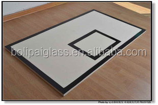 Standard Size Tempered Glass Transparent Glass Basketball board