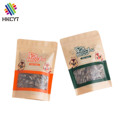 Custom Printing Colored Kraft Paper Food Packaging Bag with Window