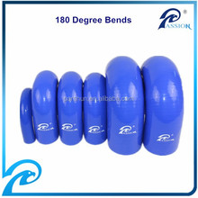 70 mm Diameter High Pressure 180 Degree Silicone Rubber Bends Hose,Blue
