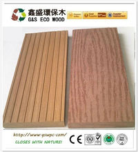 2015 wpc decking floor/wpc decking for Chile project/Wood Plastic composite decking from G&S