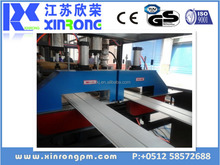 China Xinrong wood plastic composite decking machine /extrusion line