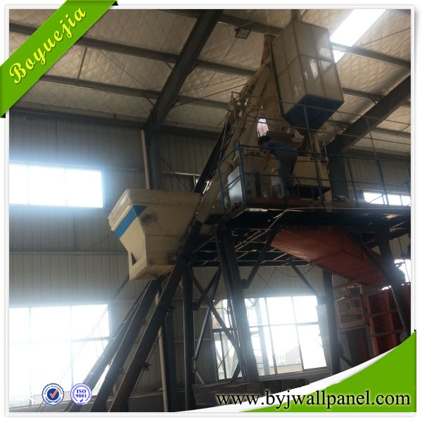Automic interlocking eps foam concrete cement sandwich wall brick making machine price