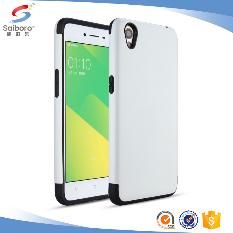 Latest arrival TPU+PC back cover for oppo a37 mobile phone cover for oppo a37