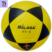 futbol topu cheaper price MILASA FT-5 soccer ball 32panel official game customize your own football PVC no laminated footbal