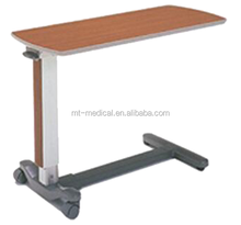 Hospital bedside dining table overbed table hospital bedside tray table