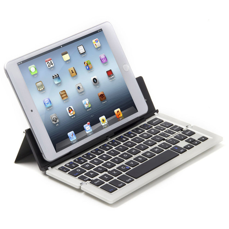 Foldable Bluetooth Keyboard Universal Portable Bluetooth 3.0 Wireless Keyboard F18