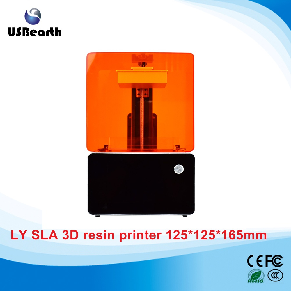High resolution LY SLA-01 SLA 3D printer 3D resin printer for jewllery prototyping dentistry toys mould bui