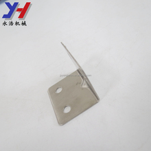 Customized toilet partition accessories stainless steel angle bracket