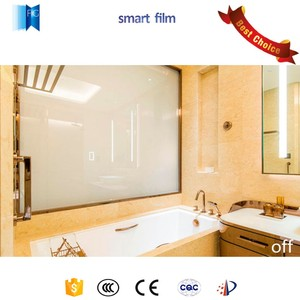 Energy Saving Electric Magic Self-adhesive PDLC Switchable Privacy Smart Glass Film