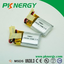 high rate-c 3.7v 220mah li-polymer battery RC battery for electric toy