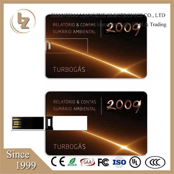 Best gift business ABS credit card USB 2.0 Flash Memory Stick Pen Thumb Drive/ usb business card