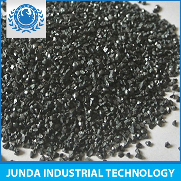Compact microstructure steel grit G50 used for steel plate surface preparation sand blasting