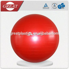 E054 Anti-Burst Gym Ball with Resistance Tubes, Exercise Ball with Rubber Bands, Anti Burst Yoga Ball with Elastic Bands