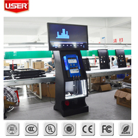 New professional design Shopping Mall cell phone charging station kiosk with rj45 oem/odm