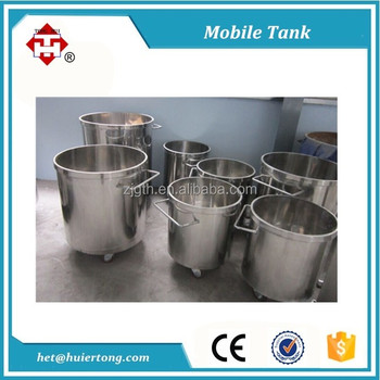 Customized stainless steel vessel