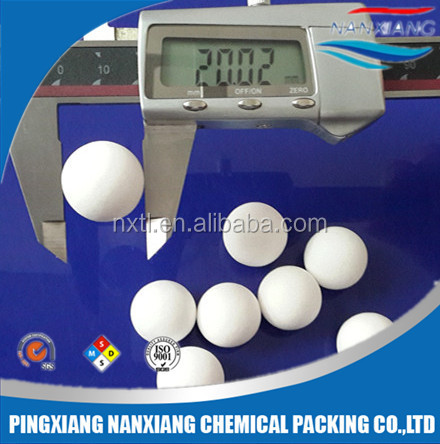 92 alumina ceramic grinding ball with low wear loss