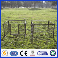 galvanized steel fence panels/metal livestock field farm fence gate for cattle or horse