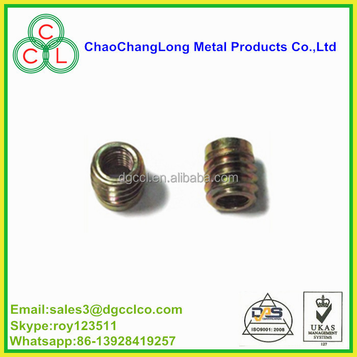 teeth nuts and furniture wood insert nuts/knurled nuts m4