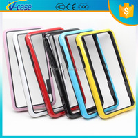 Double Color Hybrid PC+TPU Frame Bumper Case For Blackberry Z30 A10