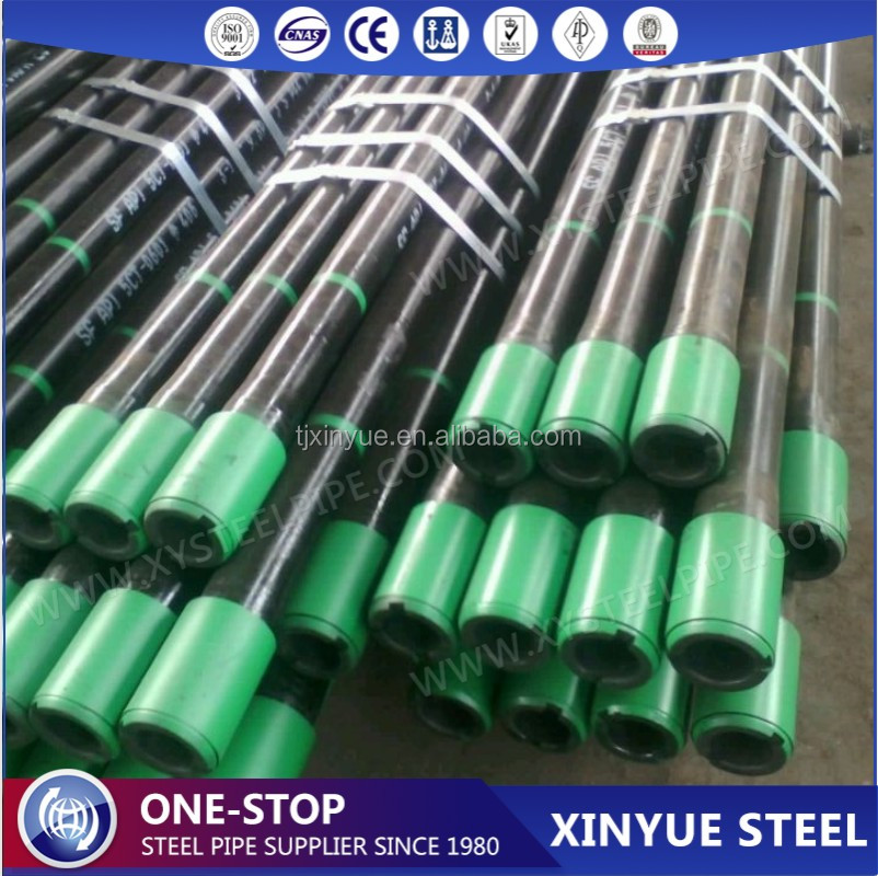 API Spec 5CT Grade N80-1 EUE Thread 2-3/8 Inch Steel Tubing Pipes, API 5CT Approved Oil Well Casing Tubing Pipes