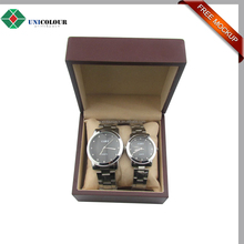 Custom luxury automatic watch winder gift box with pillow
