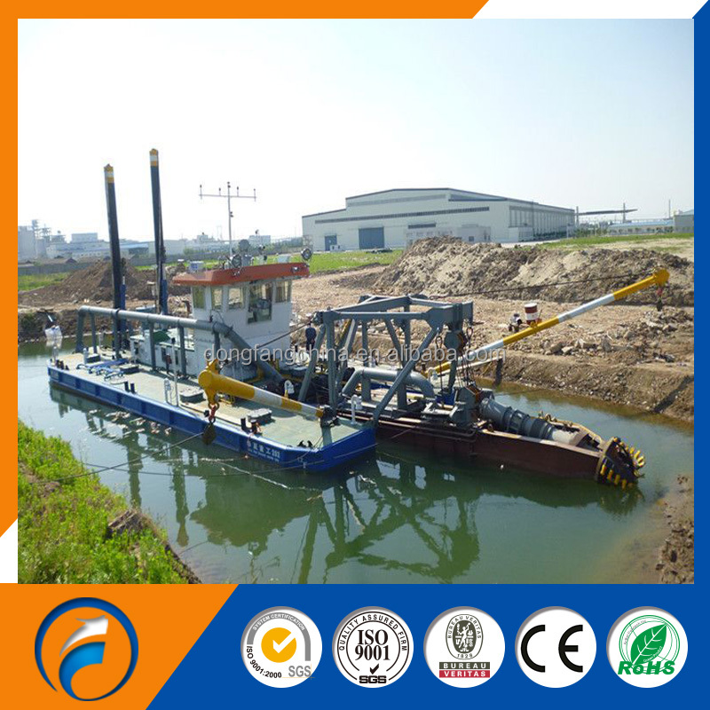 Qingzhou Dongfang Environmental Protection Cutter Suction Dredger in 2016