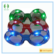 LED Flashing Football Sunglasses