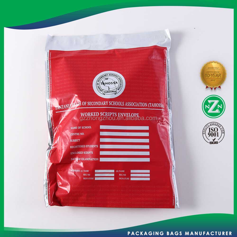 Manufacture derect 3 layers plastic mailers pouch