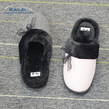New design soft plush comfortable indoor slipper all kinds of slippers