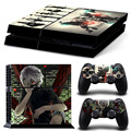 New coming! Decal Sticker for PS4 Vinyl Skin for PS4 Console & Controllers