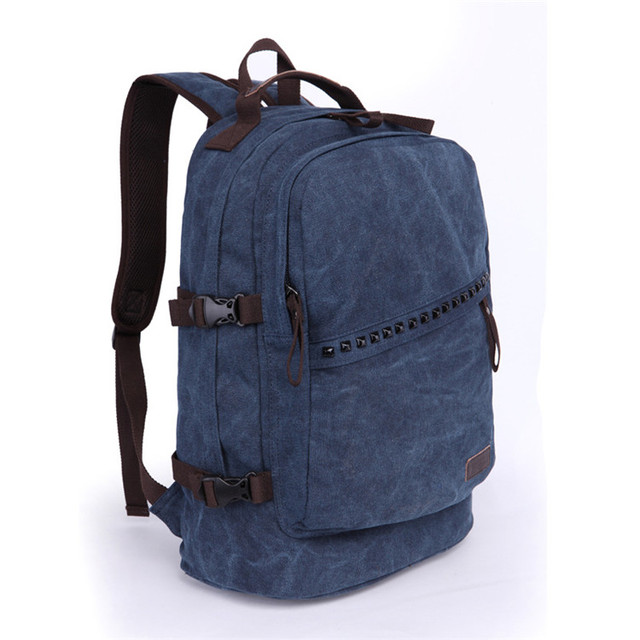 Wholesale fashion promotional canvas school leather cosmetic handle tote bag backpack
