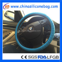 100% food grade top quality durable silicone heated steering wheel cover