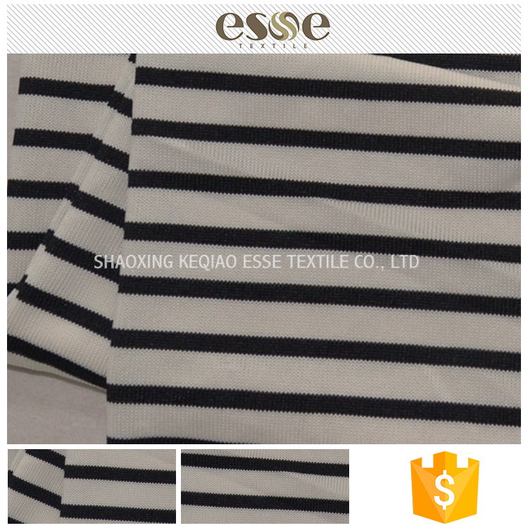 Yarn dyed hacci T/SP plain striped fabric